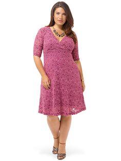 Raspberry Sorbet Lace Dress