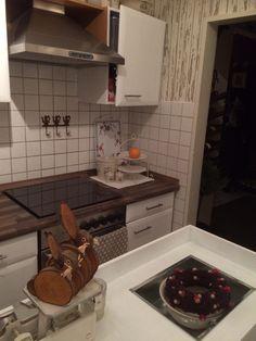 Mal eben die Küche gemalt
