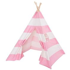 Teepee Tent For Girls. Girls Play TentKids ...  sc 1 st  Pinterest & Marimekko for Target Play Tent 3 pc - Lokki Print - Primary ...
