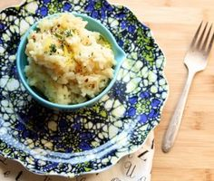 Baked Lemon Risotto - Risotto in the oven, only 1 stir needed!