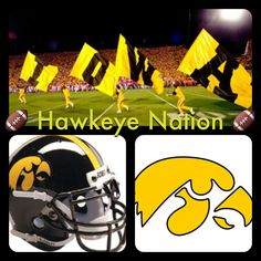 Iowa Hawkeyes! Hawkeye Nation!