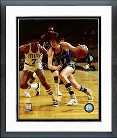 Pete Maravich Atlanta Hawks NBA Action Photo Size 125 x 155 Framed >>> Learn more by visiting the image link.