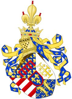 Coat of arms of René of Anjou (1470-1480)