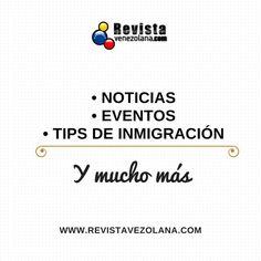 En Revista Venezolana tenemos para ti: contenido exclusivo y de primera mano.  Somos un medio de comunicación web dirigido a los venezolanos en el exterior.  #Magazine #SocialMedia #News #Tendencias #Saturday #Venezuela #IgersVenezuela #IgersEspaña #España