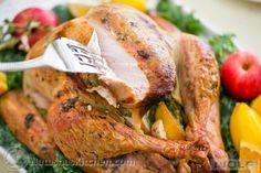 Juicy Roast Turkey. This turkey has the juiciest, most flavorful turkey breast! KEEPER!!  @natashaskitchen