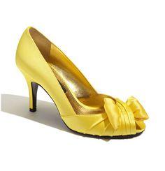 Yellow Shoes  http://shop.nordstrom.com/s/nina-forbes-peep-toe-pump/3224563?cm_cat=datafeed&cm_ite=nina_%27forbes%27_peep_toe_pump:394271&cm_pla=shoes:women:pumps&cm_ven=Google_Product_Ads&mr:referralID=177ad56f-2c90-11e4-afa0-001b2166c2c0&origin=pla