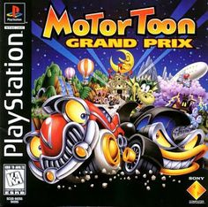 Old school video games: MOTO TOON GRAND PRIX 2. Repin if you remember!