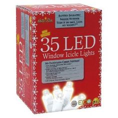 Battery operated icicle lights