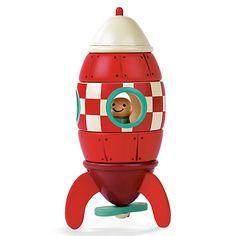 Buy Janod Magnet Rocket Toy Online at johnlewis.com