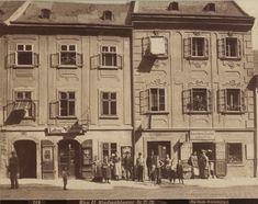 August Stauda, 6., Windmühlgasse 11 (ehem. Nr. 27 und 29), 1899 © Wien Museum Documentary Photographers, Museum Collection, Vienna, World, Places, Painting, Painting Art, Paintings, The World