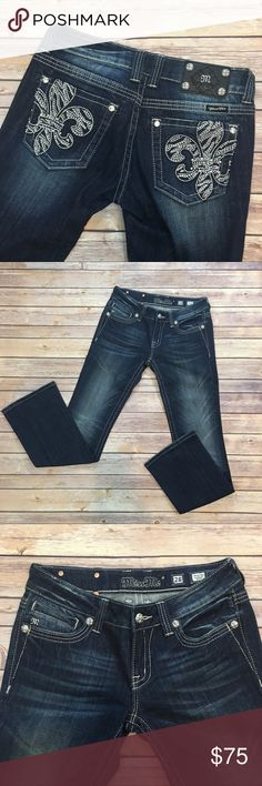 """Miss Me Bootcut Jeans Miss Me Bootcut Jeans. Front rise 8""""/ back 10""""/ inseam 32"""". In excellent condition Miss Me Jeans Boot Cut"""