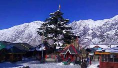 a view from chaurasi temple bharmour
