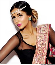 see through arms on sari blouse
