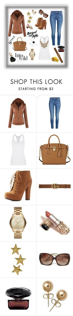 """Untitled #1"" by sladja-d-s ❤ liked on Polyvore featuring La Perla, MICHAEL Michael Kors, Charlotte Russe, Gucci, Michael Kors, Tom Ford, Versace, Anja, Bling Jewelry and Avon"