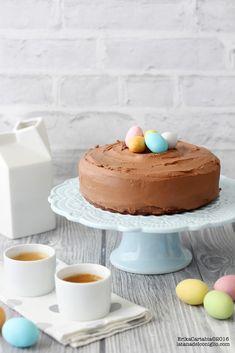 La tana del coniglio: Torta di Pasqua al cioccolato con ovetti