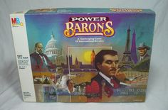 POWER BARONS Board Game of International Rivalry