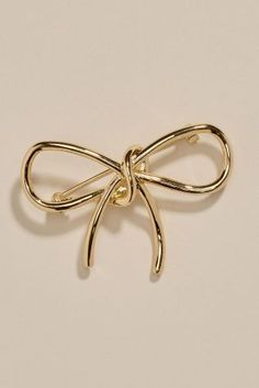 Buy Gold Tone Bow Brooch online today at Next: Israel