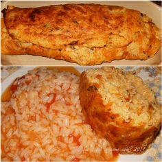 O que é que se come aqui?: Rolo de peixe com arroz de tomate