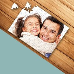 Looking for an original gift for kids or a loved one? It's easy to turn a special or favourite photo into a challenging and unique jigsaw puzzle.