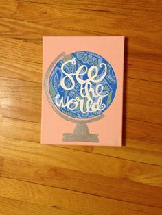See The World Globe by SouthernClothCo on Etsy