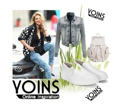 """#Yoins"" by amrafashion ❤ liked on Polyvore featuring LE3NO"