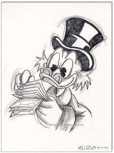 Tattoo disney mickey donald duck 44 Ideas for 2019 Disney Sketches, Disney Drawings, Cartoon Drawings, Drawing Sketches, Drawing Disney, Drawing Ideas, Disney Kunst, Arte Disney, Disney Art