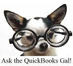 We have a blog! It is updated often with QuickBooks tips, tutorials, and advice to make your life easier.  http://qbgal.blogspot.com/