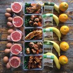 """Now this is a prime example of how you should take your meal prep masterpieces. Everything about this meal prep is yumazing! Meal Prep Game on done by extravagant prep mama! """" This is how i roll. Breakfast and lunch for the week - baked c Lunch Meal Prep, Healthy Meal Prep, Healthy Snacks, Healthy Eating, Healthy Recipes, Keto Recipes, Budget Recipes, Quiche Recipes, Meal Prep Plans"""