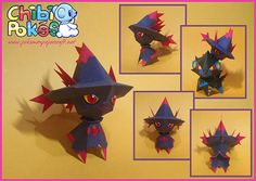 Paperized: Pokemon : Mismagius Papercraft