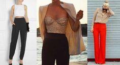 Pantalones de talle alto, cómo llevarlos y combinarlos: fotos de los modelos