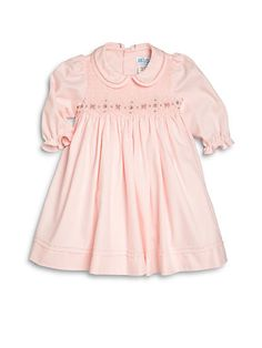 Luli and Me - Toddler's & Little Girl's Smocked Dress