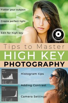 Get the breakdown on how to shoot high key photographs. An easy guide for beginners to capture striking and beautiful pictures - perfect for portraits! Best Photography Blogs, High Key Photography, Portrait Photography Tips, Amazing Photography, Learn Faster, Free Tips, Camera Settings, Creative Portraits, Beautiful Pictures