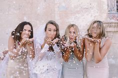 cute confetti fun with your gals