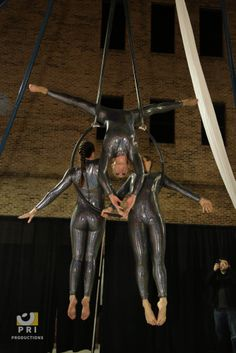 aerial acrobats are a fun way to add entertainment to your event. Aerial Acrobatics, Good Times, Leather Pants, Entertaining, Galveston, Fun, Party Ideas, Meet, Fashion