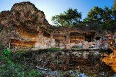 Via Amerina Cavo degli Zucchi  #Etruscans #Etruschi #sepolcro #tomb #Necropolis #Necropoli #Nikon #Samyang #8mm #fisheye #RiccardoCuppini