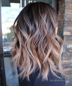 The 48 Best Medium-Length Hairstyles to Steal For Yourself - Caramel-Colored Balayage Shag - The Best Medium-Length Hairstyles and Haircuts For Thick Hair. These Tutorials Are For Women Looking For An Easy Undo or A Hair Style With Bangs Or With Layers. Check Out The Tutorials On Long Bobs Or For Curly and Fine Hair. These Medium-Length Hairstyles and Haircuts Will Work For Round Faces As Well. Try These If You Have Blonde Hair, Brunette Hair, Just Got Highlights Or A Balayage…