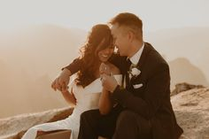glacierpointelopement yosemitewedding yosemiteelopementphotographer yosemiteweddingphotographer Elope Wedding, Wedding Ceremony, Yosemite National Park, National Parks, Taft Point, Arcade Room, Glacier Point, Yosemite Wedding, Couple Weeks