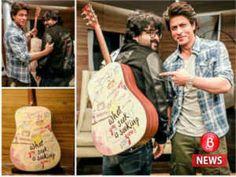 Shah Rukh Khan gifts Pritam a guitar as a token of appreciation for JHMS