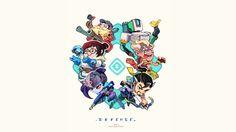 Overwatch Defense Heroes Wallpaper