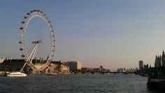 London. London Eye. The Thames.