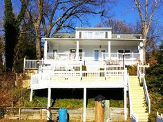 Annapolis House Rental: Spacious Annapolis Waterfront Home With Multiple Decks, Private Pier, And Views! | HomeAway