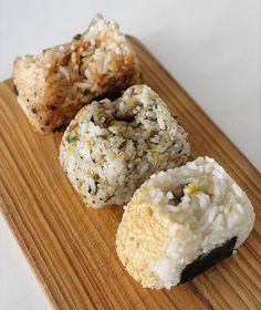 Let's Eat: Onigiri with U.S.-grown Jasmine Rice - 3-Ways