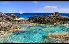 Natural swimmingpool - Sint Maarten, Netherlands Antilles