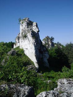 Ryczów. Climbing in Poland.