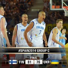 The #Susijengi defeat Ukraine to claim their first win at #Spain2014!