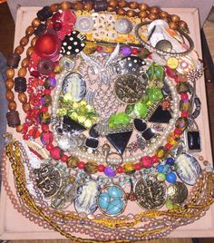 Vintage To Now Jewelry Lot Craft Repurpose Broken Parts Pieces Wear Owl Cameo | Jewelry & Watches, Vintage & Antique Jewelry, Costume | eBay!