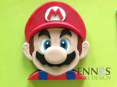 2D fondant Mario
