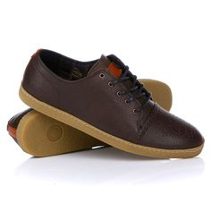 Fred Perry Deighton Leather Chocolate