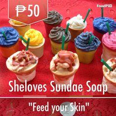 Sundaeeees Soap, Cupcakes, Desserts, Tailgate Desserts, Cupcake, Deserts, Dessert, Postres, Cupcake Cakes