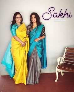 Likes, 208 Comments - SakhiFashions Silk Saree Blouse Designs, Saree Blouse Patterns, Fancy Blouse Designs, Bridal Blouse Designs, Trendy Sarees, Stylish Sarees, Fancy Sarees, Blue Silk Saree, Indian Silk Sarees
